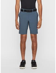 Mens Eloy Micro Stretch Shorts - Tapered Dk Grey