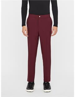 Mens Ives Stretch Pants Dark Mahogany