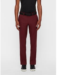 Mens Elof Tight Pin Stripe Pants Dark Mahogany