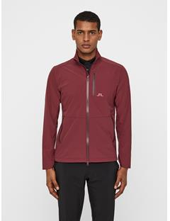 Mens Adapt Performance Jacket Dark Mahogany