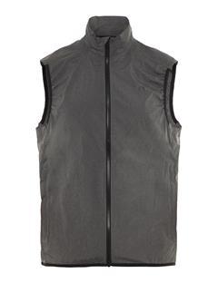 Mens Yosef Trusty Vest Dk Grey Melange