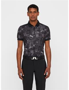 Mens KV TX Jersey Polo - Regular Fit Black Sports Camo