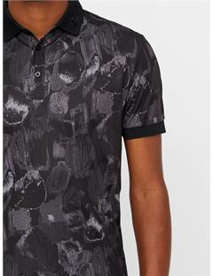KV TX Jersey Polo - Regular Fit Black Sports Camo