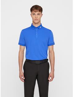 Mens Tour Tech TX Jersey Polo - Slim Fit Daz Blue