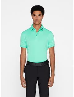 Mens Tour Tech TX Jersey Polo - Slim Fit Fresh Green