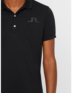 Big Bridge TX Jersey Polo - Regular Fit Black