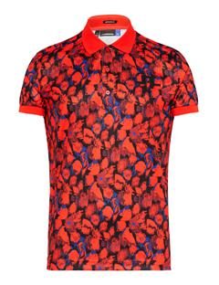 Big Bridge TX Jersey Polo - Regular Fit Red Sports Camo