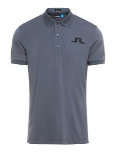 Mens Big Bridge TX Jersey Polo - Regular Fit Dk Grey