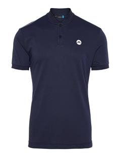 Mens Bevin Cotton Poly Polo Navy Melange