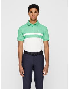 Mens Kye Cotton Poly Polo - Regular Fit Fresh Green Melange