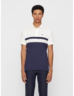 Mens Kye Cotton Poly Polo - Regular Fit Navy Melange