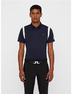 Mens Dolph TX Jersey Polo - Slim Fit JL Navy