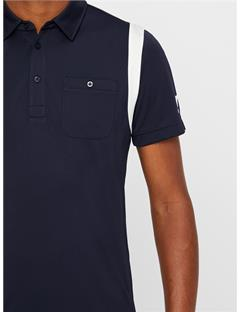 Dolph TX Jersey Polo - Slim Fit JL Navy
