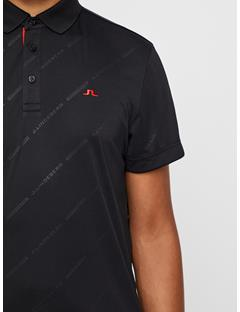 Clay TX Jersey + Polo - Regular Fit Black Print