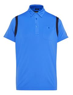 Mens Dolph TX Jersey Polo - Regular Fit Daz Blue