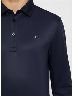 Olle TX Peached Polo - Slim Fit JL Navy