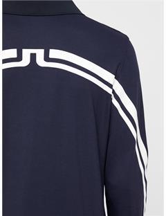 Elias Lux Pique Polo - Slim Fit JL Navy