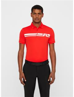 Mens Eddy TX Jersey Polo Racing Red