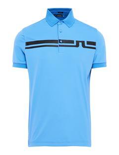 Eddy TX Jersey Polo Silent Blue