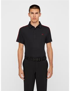 Mens Club T Lux Pique Polo Black