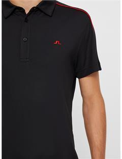 Club T Lux Pique Polo Black