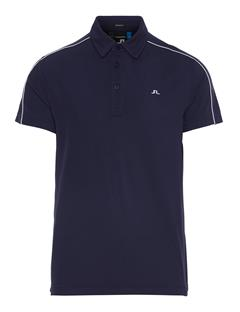 Mens Club T Lux Pique Polo JL Navy