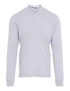Mens Brayden Cotton Poly Polo - Slim Fit Stone Grey Melange