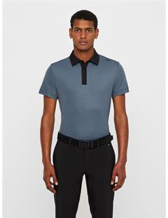 Henry Lux Pique Polo Dk Grey