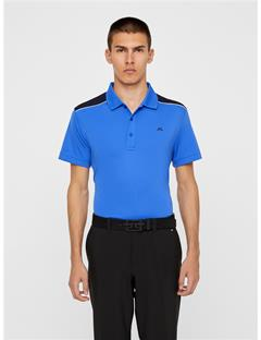 Mens Matty TX Jersey Polo Daz Blue