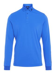 Mens Tour Tech TX Jersey Long Sleeve Polo - Regular Fit Daz Blue