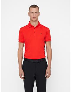 Mens Dario TX Jersey + Polo - Slim Fit Racing Red