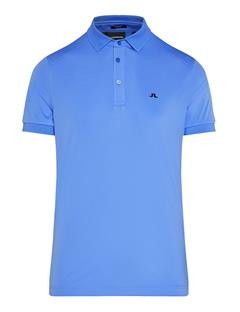 Mens Dario TX Jersey + Polo - Slim Fit Silent Blue