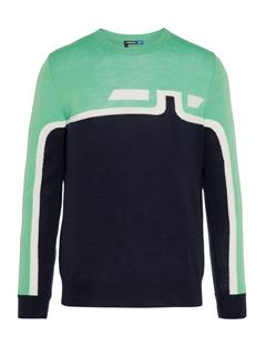 Mens Alf Tour Merino Sweater Fresh Green
