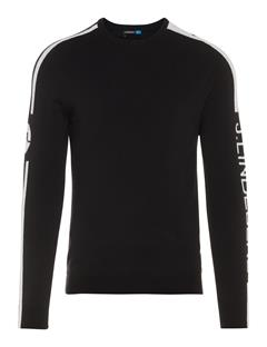 Mens Nolans Tour Merino Sweater Black