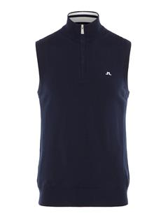 Mens Edi 2.0 Tour Merino Sweater Vest JL Navy