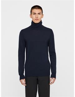 Mens Ed Coolmax Cashmere Sweater JL Navy