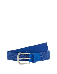 Mens Caspian Elastic Braid Belt Daz Blue