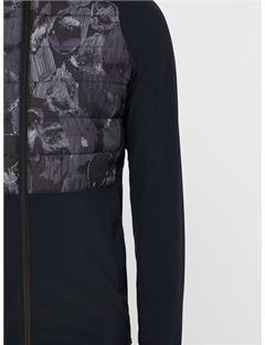 Season Hybrid Jacket Black Sports Camo