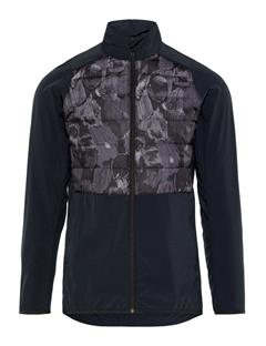 Mens Season Hybrid Jacket Black Sports Camo