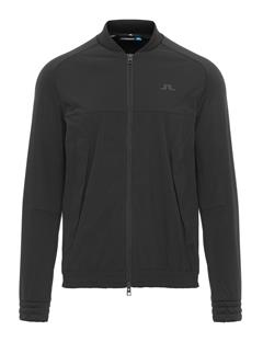 Mens Luxe Bridge Hybrid Tech Midlayer Black