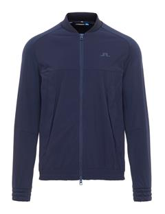 Mens Luxe Bridge Hybrid Tech Midlayer JL Navy