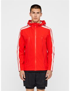 Mens Wensel 2.5 Ply Running Jacket Racing Red