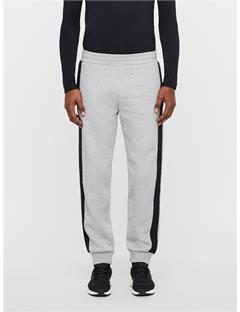 Pat French Terry Sweatpants Stone Grey Melange