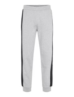 Mens Pat French Terry Sweatpants Stone Grey Melange