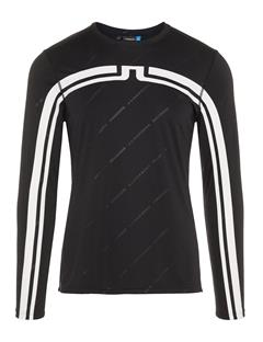 Mens Camron TX Jersey T-shirt Black Print