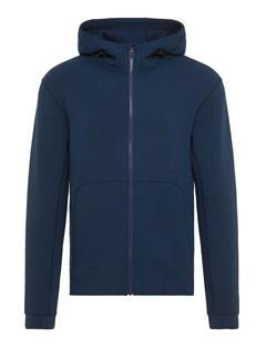 Mens Athletic Tech Sweat Hoodie JL Navy