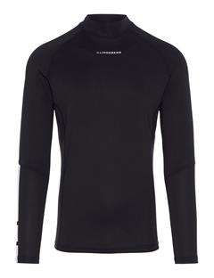 Mens Myles Soft Compression Top Black