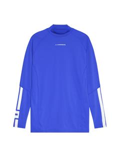 Mens Myles Soft Compression Top Daz Blue
