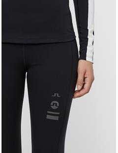 Womens Eleen Compression Leggings Black