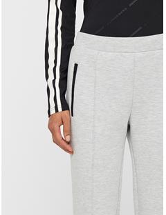 Womens Lina Tech Sweatpants Stone Grey Melange